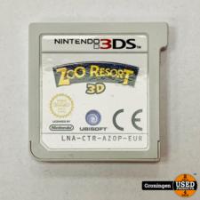 Nintendo 3DS [3DS] Zoo Resort 3D | losse cassette