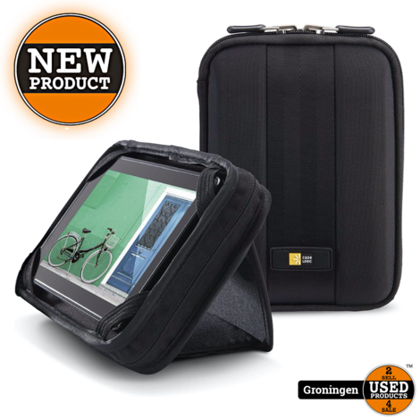 [-40%] Case Logic QTS207 Tablet Case/Stand 7 inch Zwart   NIEUW!