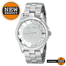 Marc Jacobs Marc by Marc Jacobs MBM3205 Henry Skeleton Silver   NIEUW/ONGEDRAGEN