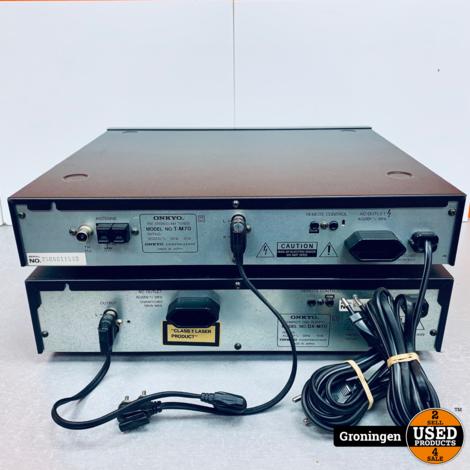 Onkyo SET [DX-M70  CD-speler / T-M70 Tuner]