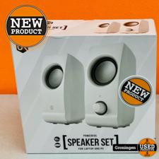 Trust Trust Urban 22958 speakerset voor laptop/computer wit | NIEUW