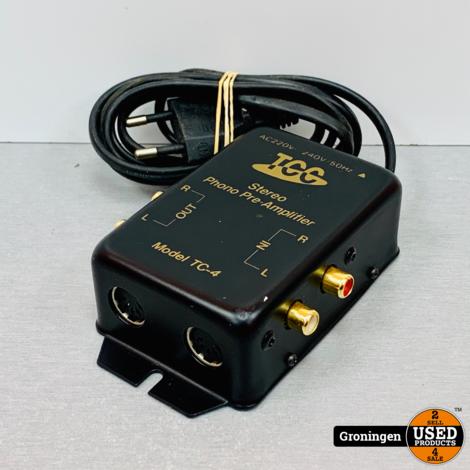TCC TC-4 Stereo Phono Pre-Amplifier / Phonovoorversterker