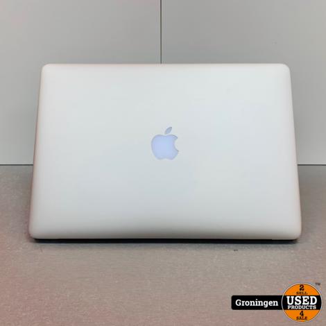 Apple MacBook Pro 15,4 Retina (2015) | Core i7 2,2GHz | 256GB SSD | 16GB RAM | schermcoating beschadigd | incl. Sleeve en adapter