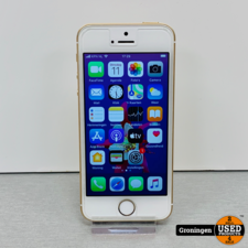 Apple Apple iPhone SE 64GB Gold MLXK2LL/A | NETTE STAAT! | Accu 86% | incl. lader
