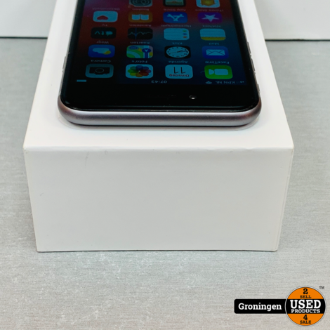 Apple iPhone 6 16GB Space Gray MG472ZD/A | NETTE STAAT! | Accu 86% | incl. lader en doos