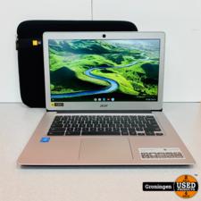 Acer Acer Chromebook 14 CB3-431-C5K7 | NETTE STAAT! | incl. Hoes en lader