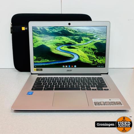 Acer Chromebook 14 CB3-431-C5K7 | NETTE STAAT! | incl. Hoes en lader