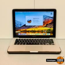 Apple Apple Macbook Pro 13,3 (Late 2011)   Core i5 2.4GHz   4GB RAM   250GB SSD   High Sierra   incl. Case en MagSafe-adapter
