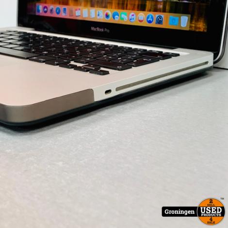 Apple Macbook Pro 13,3 (Late 2011)   Core i5 2.4GHz   4GB RAM   250GB SSD   High Sierra   incl. Case en MagSafe-adapter