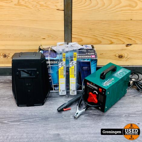 Parkside PESG 120 A1 | 85053 | elektroden lasapparaat incl. Laskap, elektroden en doos
