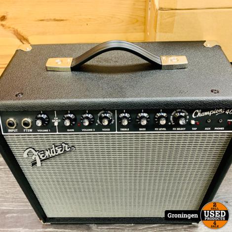 Fender Champion 40 Combo gitaarversterker   NETTE STAAT!   incl. doos