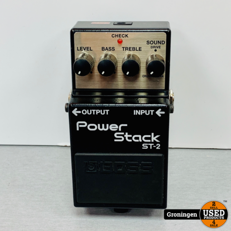 Boss ST-2 Power Stack distortion pedaal