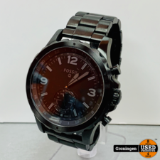 Fossil Fossil Q Nate Hybrid Smartwatch | FTW1115