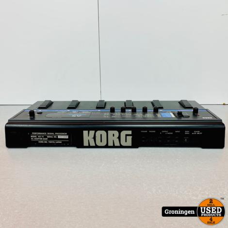 KORG A5 FX Bass Performance Signal Processor Effectpedaal
