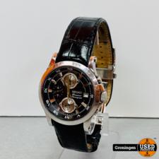 Seiko Seiko Premier Chronograph 7T62-0FF0 | 38 mm - Quartz | bandje incompleet