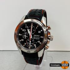 Seiko Seiko Sportura Chronograph 7T62-0KVO SNAE65P1 herenhorloge Ø 41mm | NETTE STAAT!