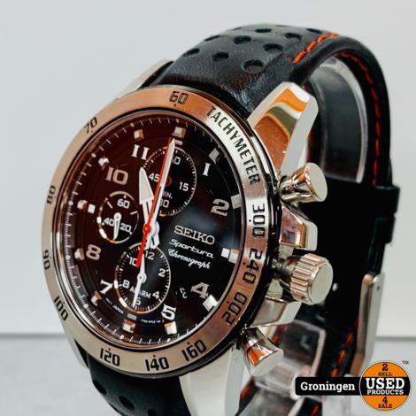 Seiko Sportura Chronograph 7T62-0KVO SNAE65P1 herenhorloge Ø 41mm | NETTE STAAT!