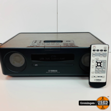 Yamaha Yamaha TSX-130 Speakerdock met USB, CD, iPod en wekker | incl. AB