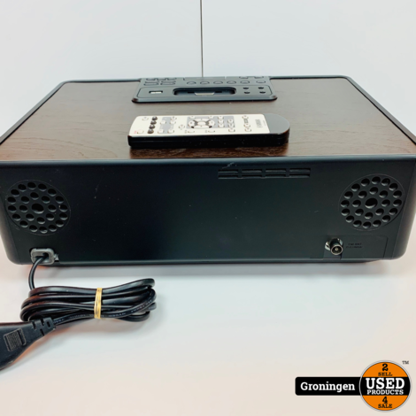 Yamaha TSX-130 Speakerdock met USB, CD, iPod en wekker | incl. AB