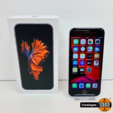 Apple Apple iPhone 6s 32GB Space Gray | Accu 90% | incl. lader, boekjes en doos