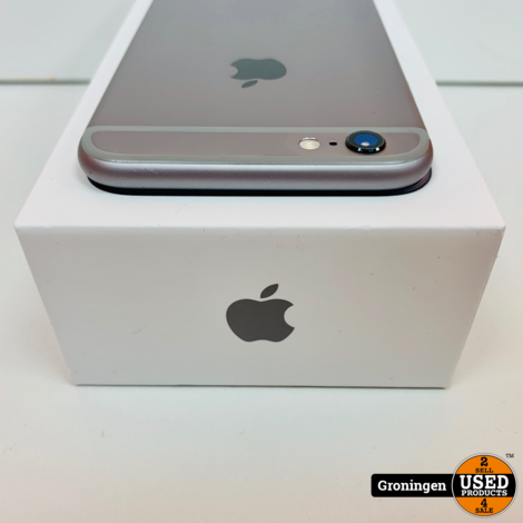 Apple iPhone 6s 32GB Space Gray | Accu 90% | incl. lader, boekjes en doos