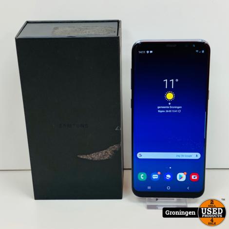 Samsung Galaxy S8 Plus G955 Coral Blue | incl. lader en doos