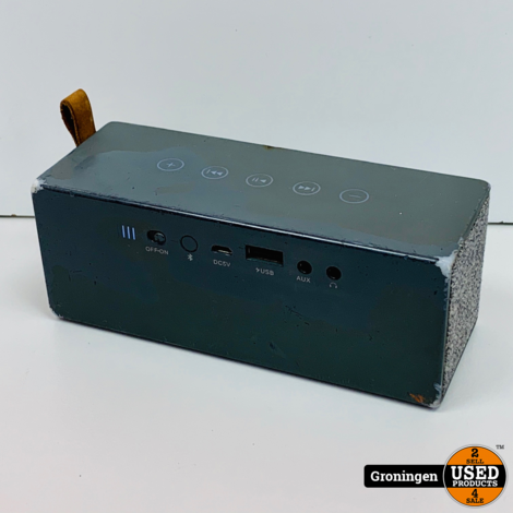 Fresh 'n Rebel Rockbox Brick Fabriq Edition | Bluetooth Speaker | beschadigd