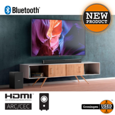Sharp Sharp HT-SBW182 2.1 Slim Soundbar met draadloze subwoofer | HDMI, Bluetooth, AUX, Toslink | NIEUW