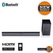 Sharp Sharp HT-SBW182 2.1 Slim Soundbar met draadloze subwoofer   HDMI, Bluetooth, AUX, Toslink   NIEUW