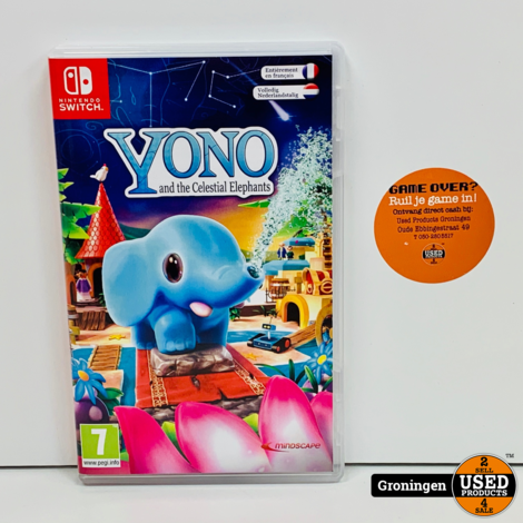 [Switch] Yono and the Celestial Elephants