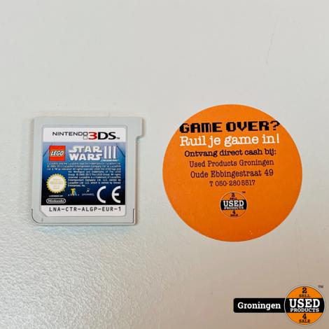 [3DS] LEGO Star Wars 3 - Clone Wars   losse cassette