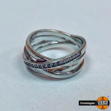 Zinzi Zinzi ring Zilver 925 | Ø17mm | 5,94 gram