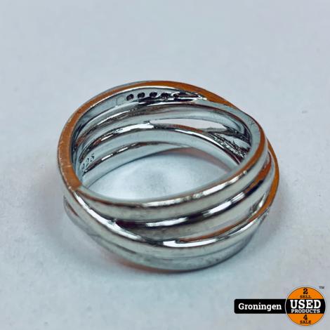 Zinzi ring Zilver 925 | Ø17mm | 5,94 gram
