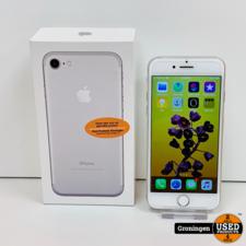 Apple Apple iPhone 7 32GB Zilver | Accu 85% | incl. lader, boekjes en doos