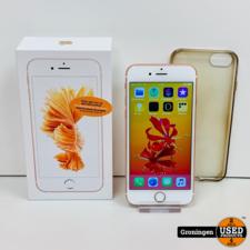 Apple Apple iPhone 6s 32GB Rose Gold | Lichte schermschade | Accu 85% | incl. Cover, lader, boekjes en doos