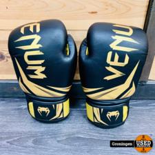Venum Venum Challenger 3.0 Boxing Gloves 16 OZ Black/Gold | Kickboks handschoenen