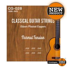 CLXmusic CLXmusic CG-028 Silver Plated Copper gitaarsnaren klassieke/spaanse gitaar .028-.043 | NIEUW