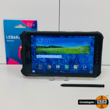 Samsung Samsung Galaxy Tab Active 8.0 LTE/4G SIM T365 16GB Black | incl. Cover en Stylus-pen | Android 5.1.1
