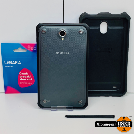Samsung Galaxy Tab Active 8.0 LTE/4G SIM T365 16GB Black | incl. Cover en Stylus-pen | Android 5.1.1