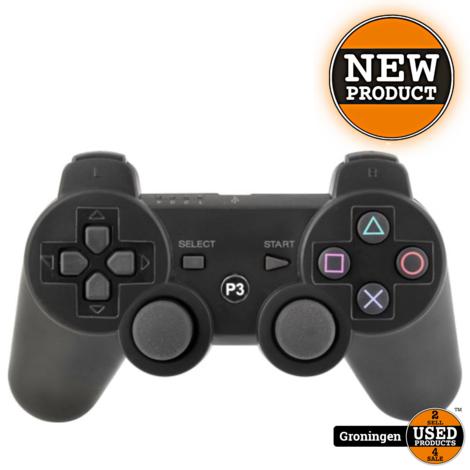 PS3 Controller draadloos voor PlayStation 3 (PS3) - Zwart | NIEUW