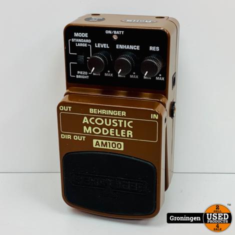 Behringer AM100 Acoustic Modeler voeteffect