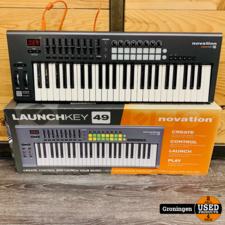 Novation Novation Launchkey 49 MK1 MIDI keyboard | NETTE STAAT! incl. USB-kabel, boekjes en doos