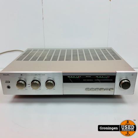 Philips F4220 Vintage Stereo Versterker met Phono