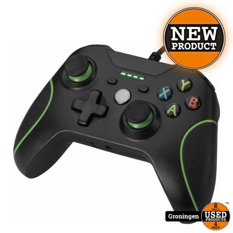 [Xbox One] Wired controller zwart | NIEUW