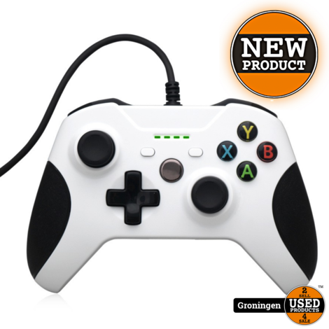 [Xbox One] Wired controller wit | NIEUW