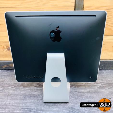 Apple iMac 20'' 2008 | Core 2 Duo @ 2,4GHz | 4GB RAM | 250GB | AMD HD2400XT | OS X El Capitan 10.11.6 | incl. toetsenbord en muis