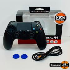 PlayStation 4 PS4 Controller draadloos voor PlayStation 4 (PS4) - Zwart | NIEUW