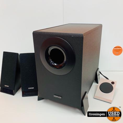 Edifier M1360 2.1 Speakerset met losse volumeregeling