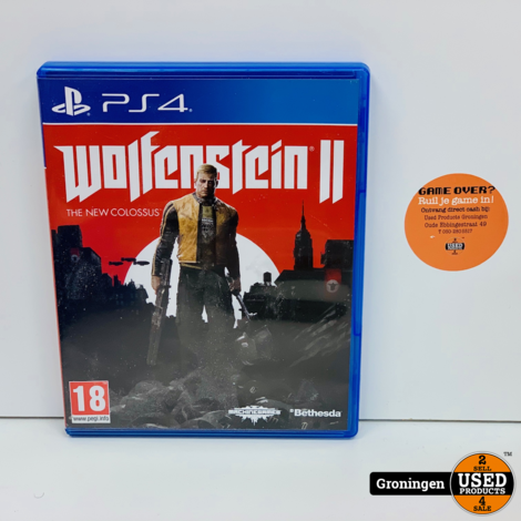 [PS4] Wolfenstein II: The New Colossus