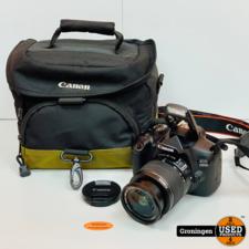 Canon EOS 1300D [7.960 clicks] + EF-S 18-55mm 3.5-5.6 IS II   incl. Canon-cameratas en lader